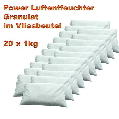 luftentfeuchter granulat im vliesbeutel 20 x 1 kg luftentfeuchter. Black Bedroom Furniture Sets. Home Design Ideas